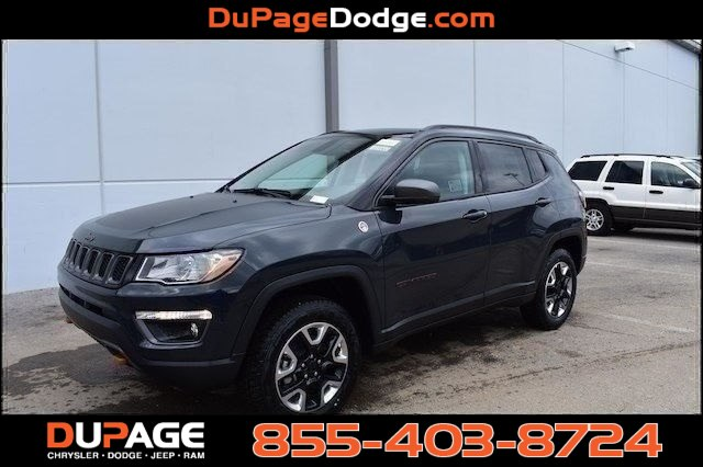 new 2018 jeep compass trailhawk sport utility in glendale heights