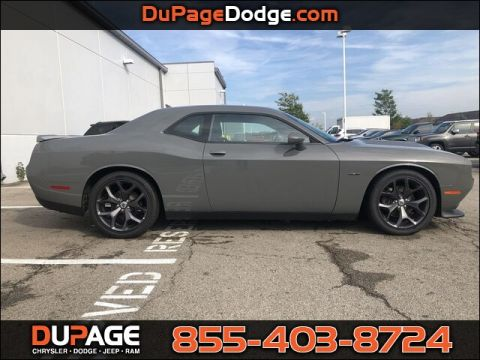 New 2019 DODGE Challenger R/T With Navigation